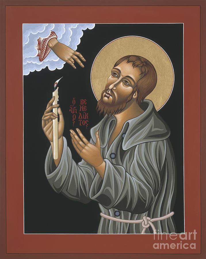 Patron Saint Painting - St. Benedict Joseph Labre 062 by William Hart McNichols