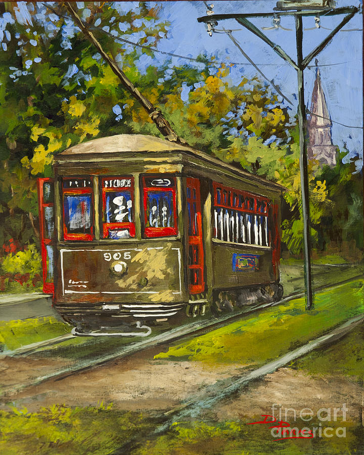 New Orleans Artist Painting - St. Charles No. 905 by Dianne Parks
