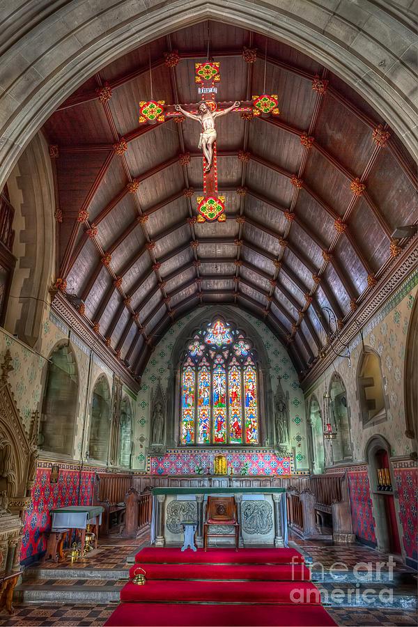 Altar Photograph - St Davids by Adrian Evans