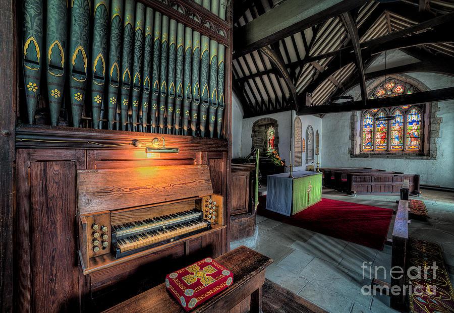 British Photograph - St Digains Church by Adrian Evans