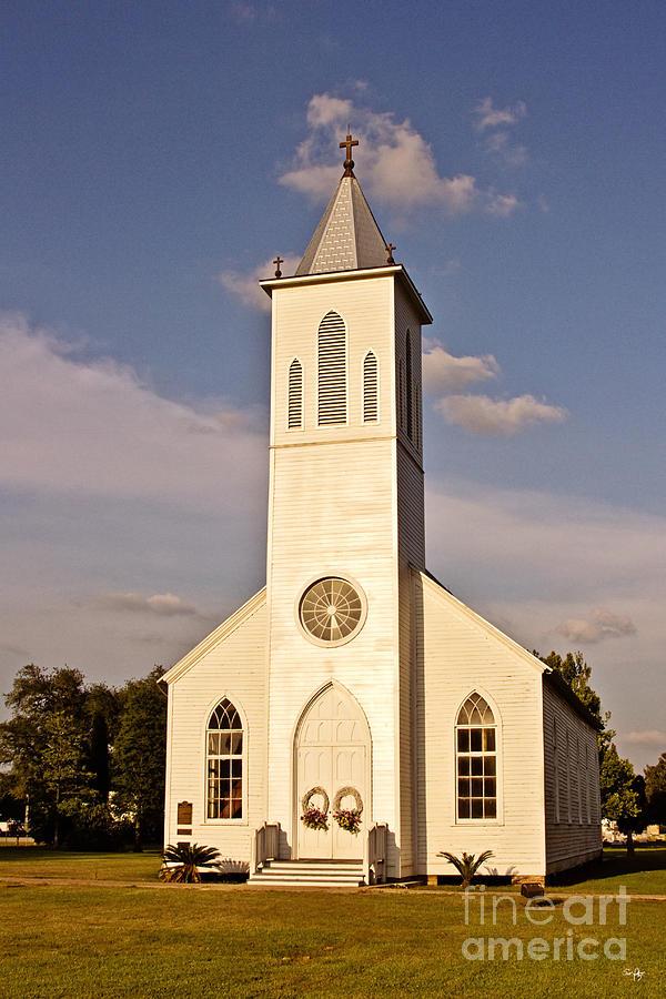 Church Photograph - St. Gabriel The Archangel Catholic Church by Scott Pellegrin