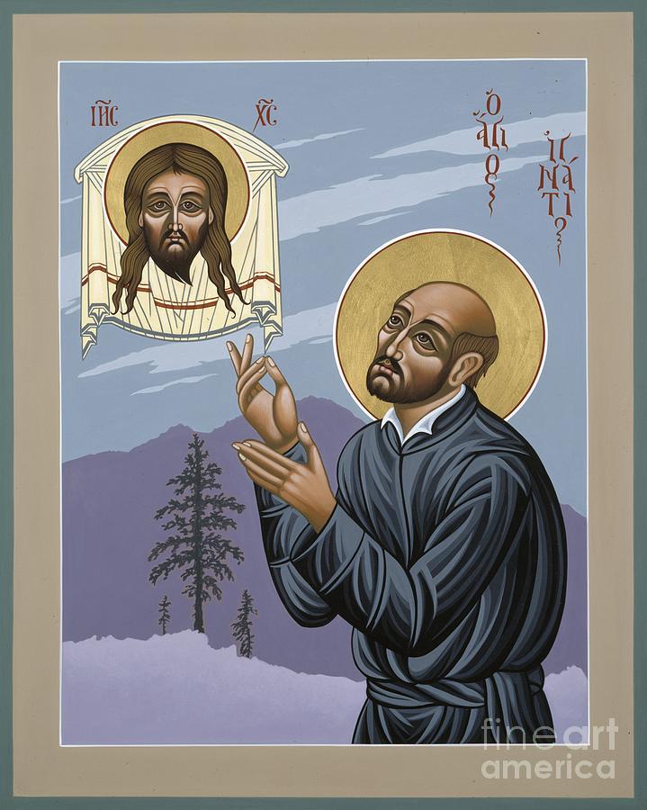 St. Ignatius Painting - St. Ignatius Amidst Alaska 141 by William Hart McNichols