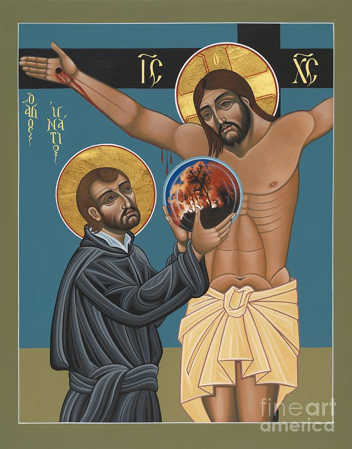 21st Century Painting - St. Ignatius And The Passion Of The World In The 21st Century 194 by William Hart McNichols