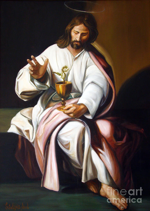 Masterpieces Painting - St John The Evangelist by Silvana Abel