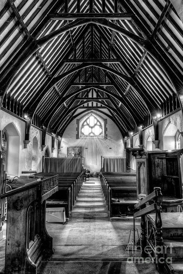 1861 Photograph - St John Ysbyty Ifan by Adrian Evans