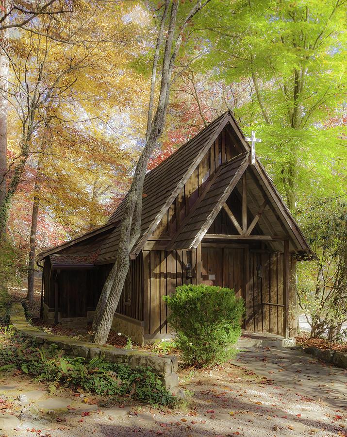 St. John's Cartoogechaye                 Church - Dreamy Effect by Karen Stephenson