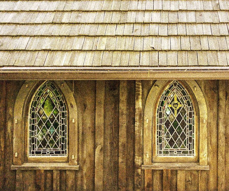 St Johns Church - Grain Effect by Karen Stephenson