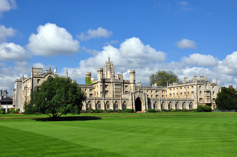 St. John's College Cambridge by Matthew Chapman