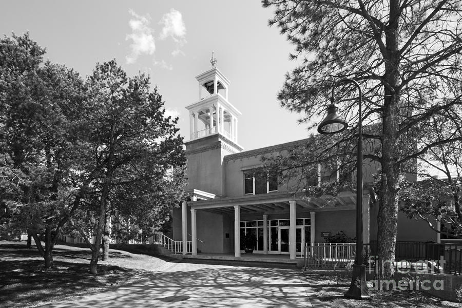 New Mexico Photograph - St. Johns College Santa Fe Weigle Hall by University Icons