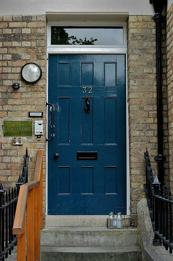 Blue Door Photograph - St Johns Street by Joseph Yarbrough