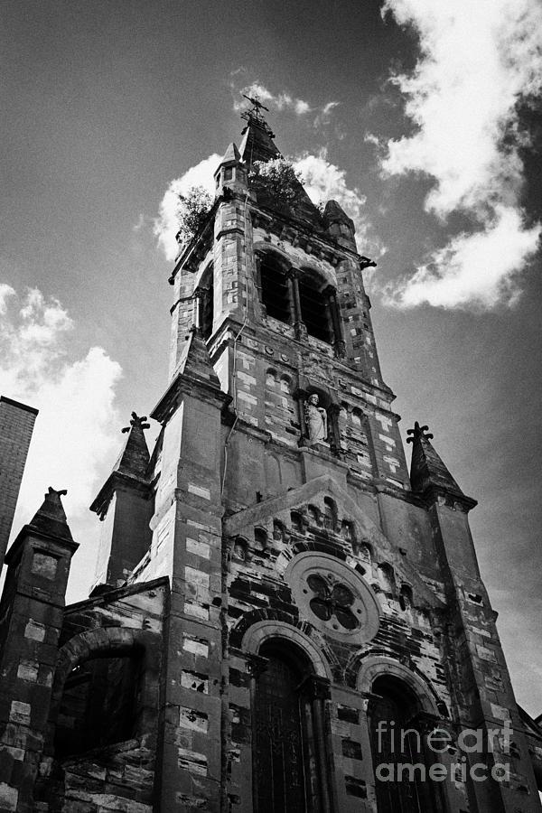 Belfast Photograph - St Josephs Chapel Sailortown Belfast Northern Ireland Uk by Joe Fox