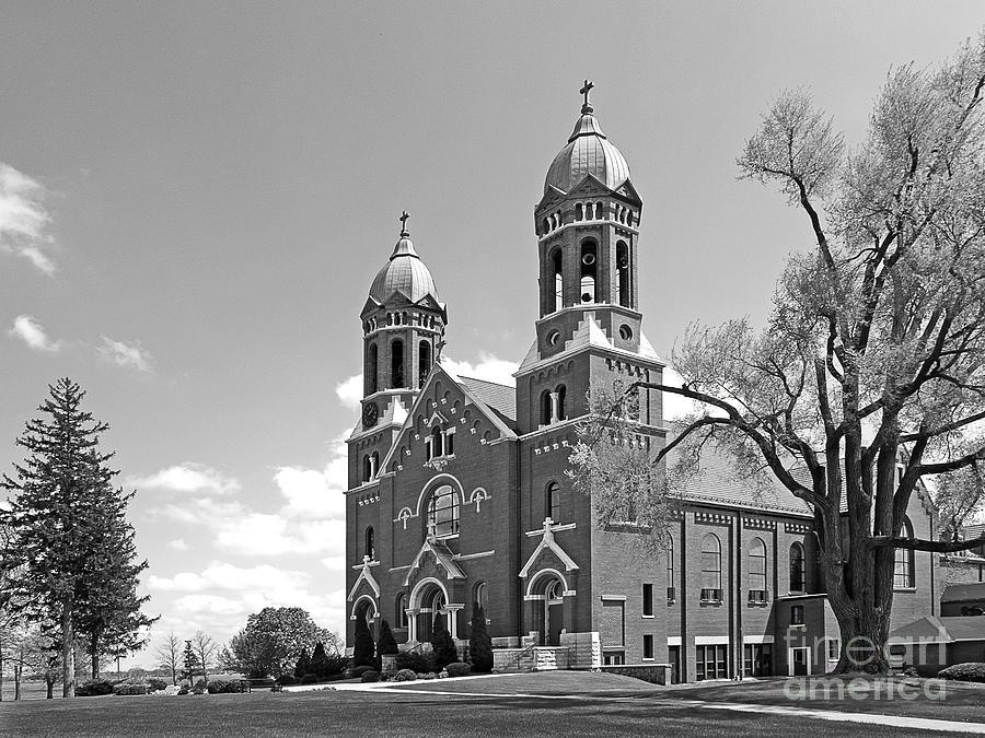 Catholic University Photograph - St. Josephs College Chapel by University Icons