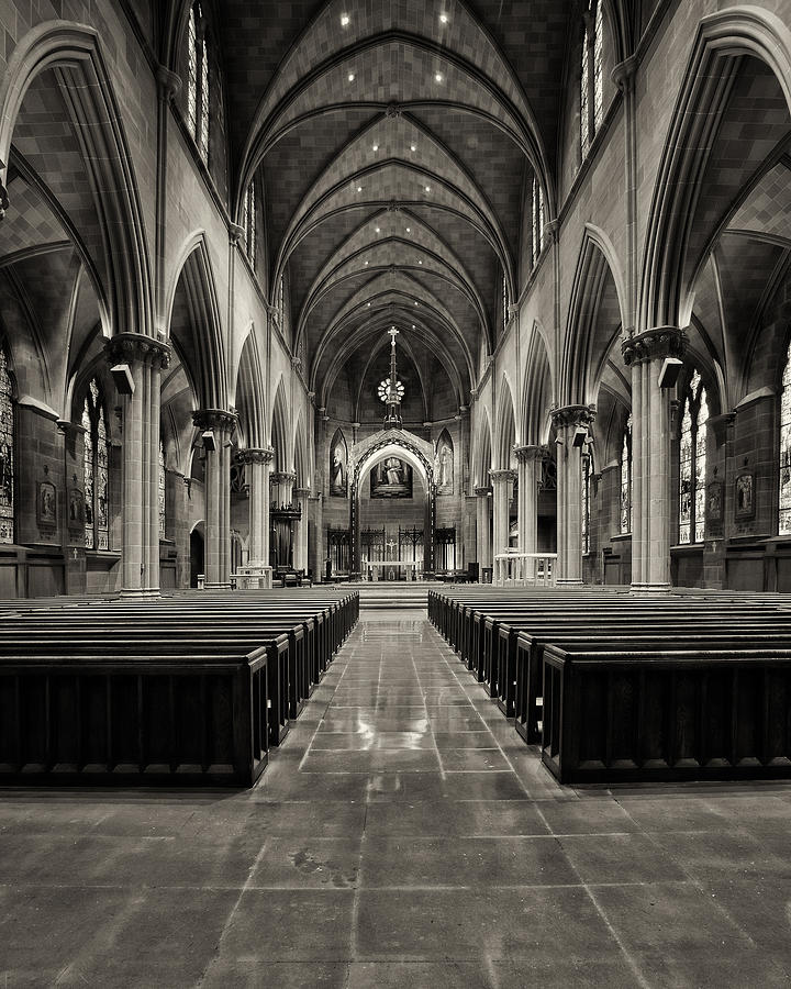 Alter Photograph - St Josephs IIi by Dick Wood
