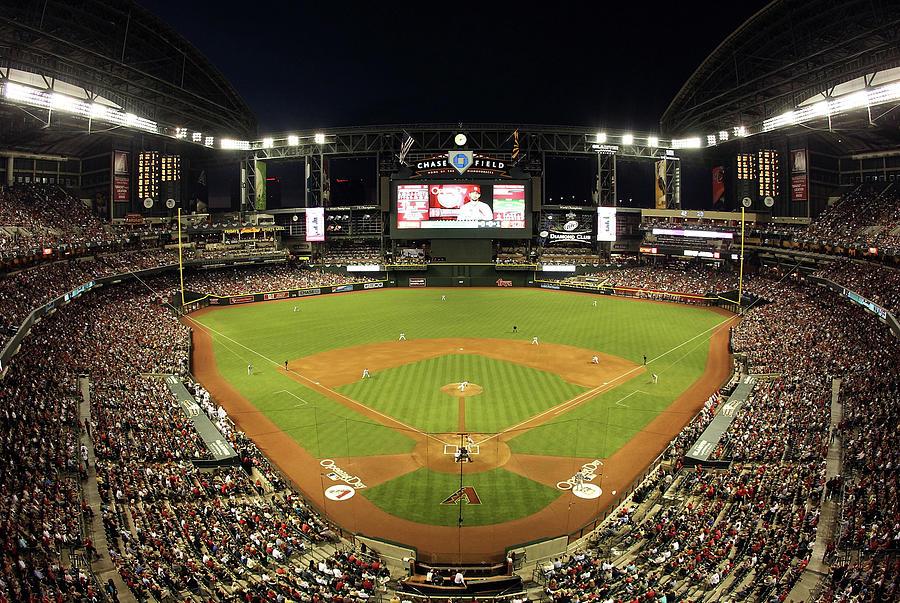St Louis Cardinals V Arizona Photograph by Christian Petersen