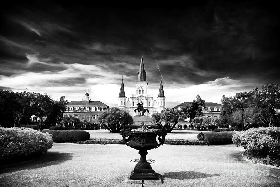 New Orleans Photograph - St. Louis Cathedral by John Rizzuto