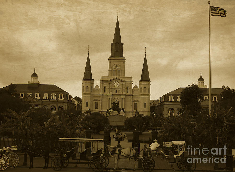 St Louis Cathedral - New Orleans Photograph