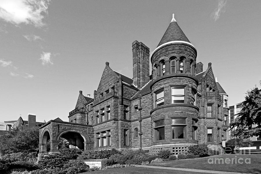 Billiken Photograph - St. Louis University Samuel Cupples House by University Icons