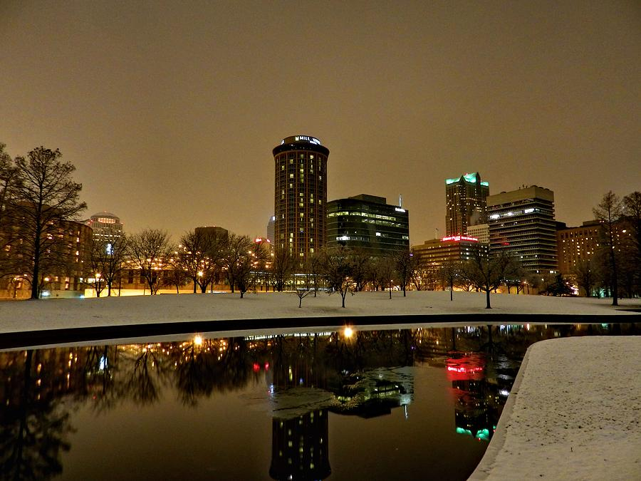 St Louis Photograph - St. Louis - Winter At The Arch 007 by Lance Vaughn