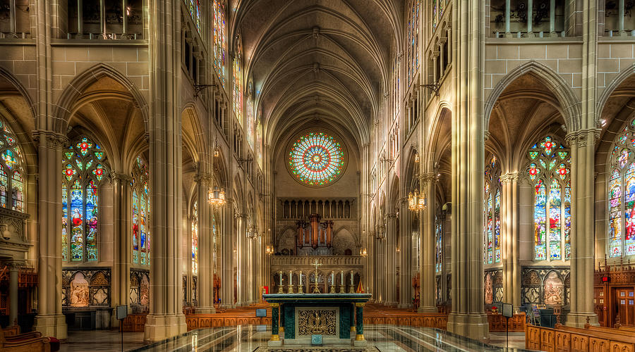 St. Mary Cathedral Basilica of the Assumption by Keith Allen