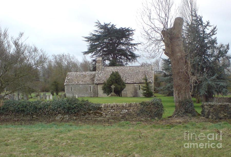 Cotswolds Photograph - St Mary Church Ampney by John Williams