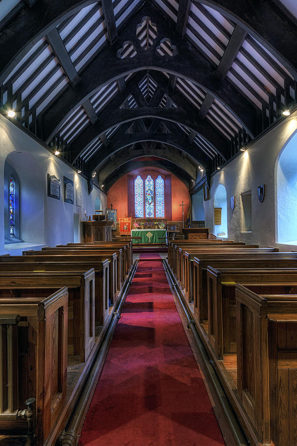 Church Photograph - St Mary Magdalene by Ian Mitchell
