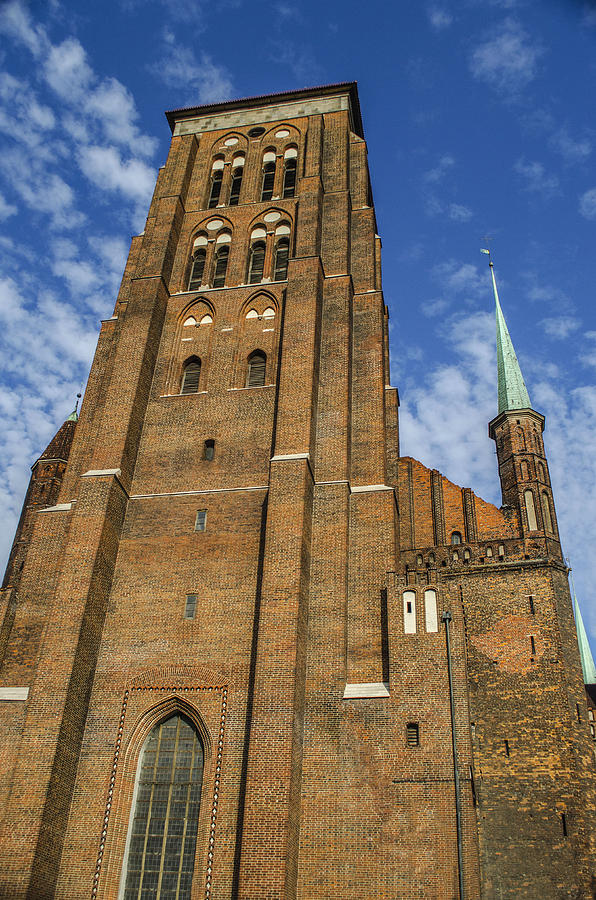 Gdansk Photograph - St. Marys Church In Gdansk by Adam Budziarek