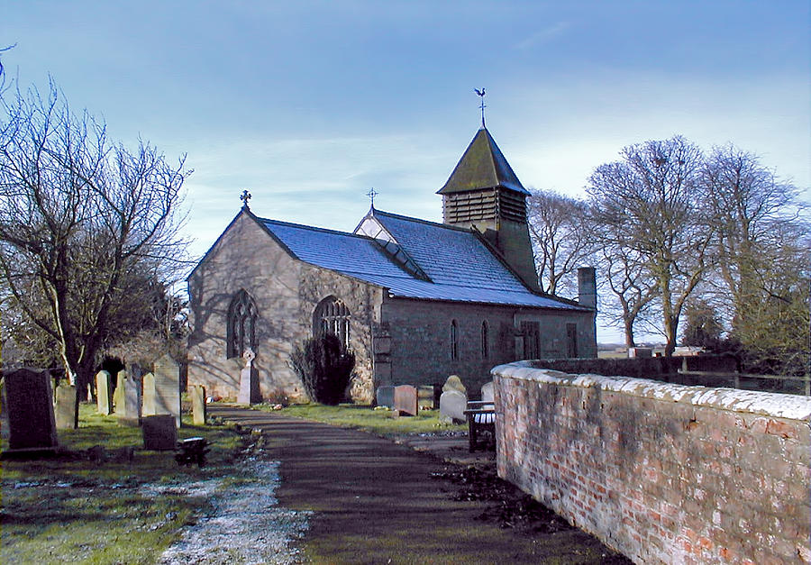 Village Photograph - St Marys Church Raskelf by Trevor Kersley
