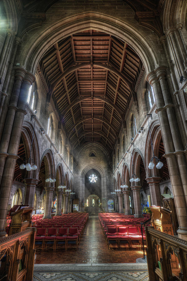 Cathedral Photograph - St Marys Without The Walls V2 by Ian Mitchell