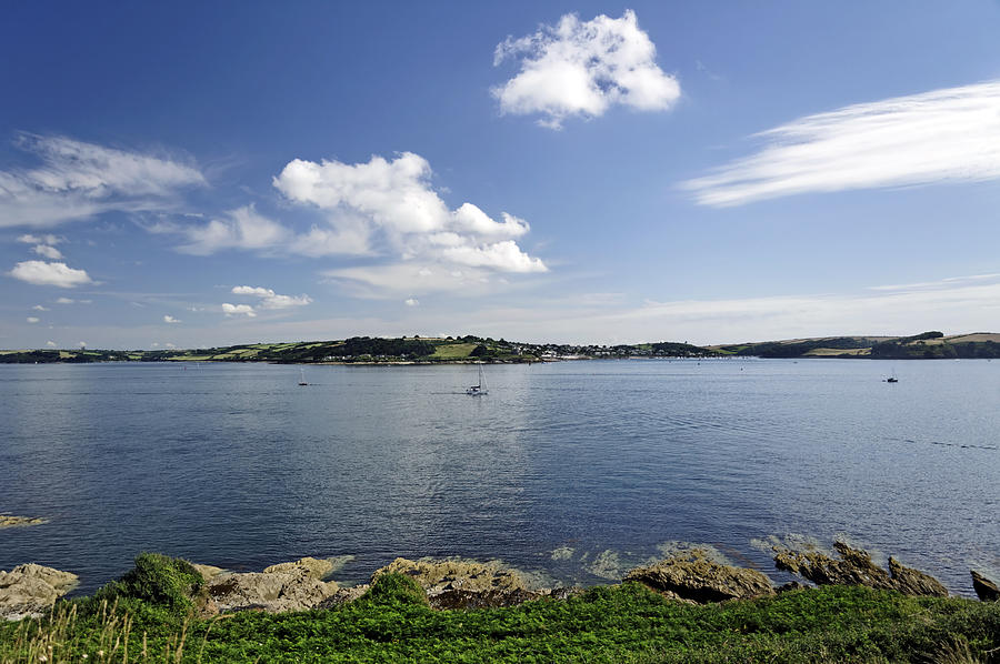 Britain Photograph - St Mawes From Pendennis Point by Rod Johnson