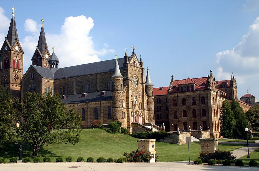 St. Meinrad Photograph - St. Meinrad Archabbey and Seminary by Thia Stover