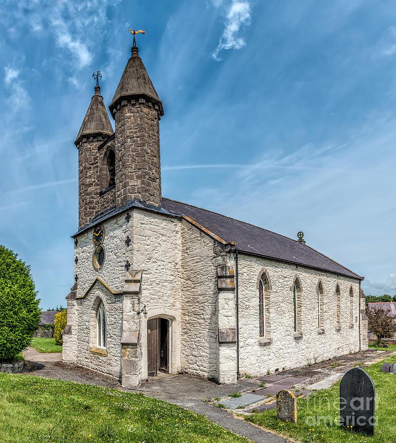 Betws Yn Rhos Photograph - St Michael Church by Adrian Evans