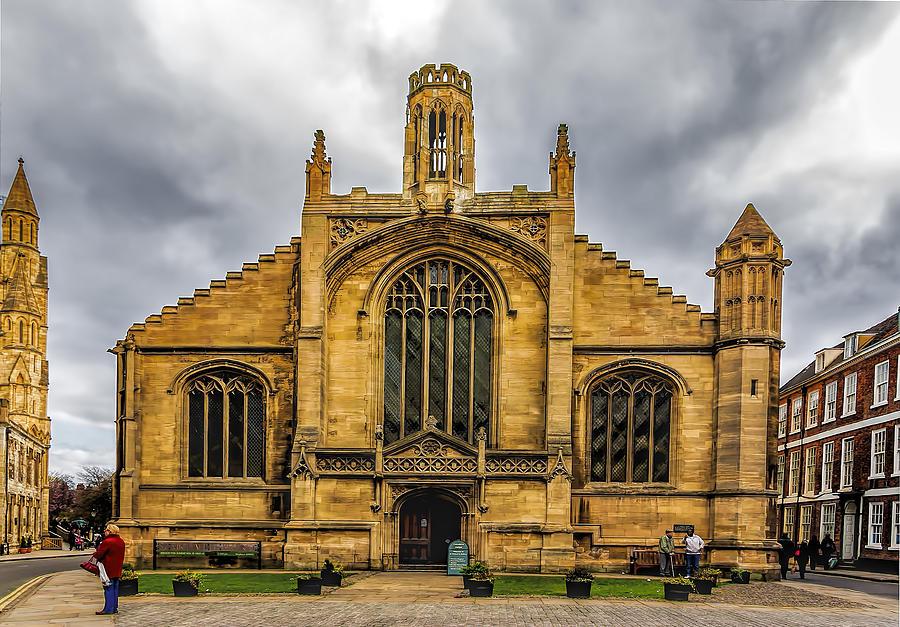 Church Photograph - St Michael Le Belfry Church by Trevor Kersley