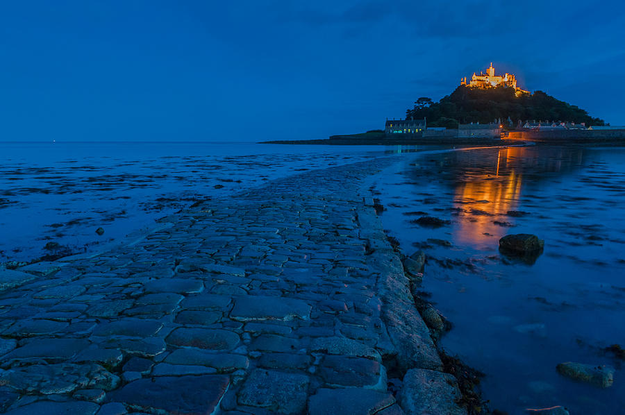 Cornwall Photograph - St Michaels Mount by David Ross