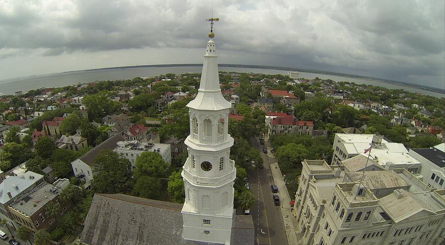 Charleston Photograph - St. Michaels by Rick Lecture