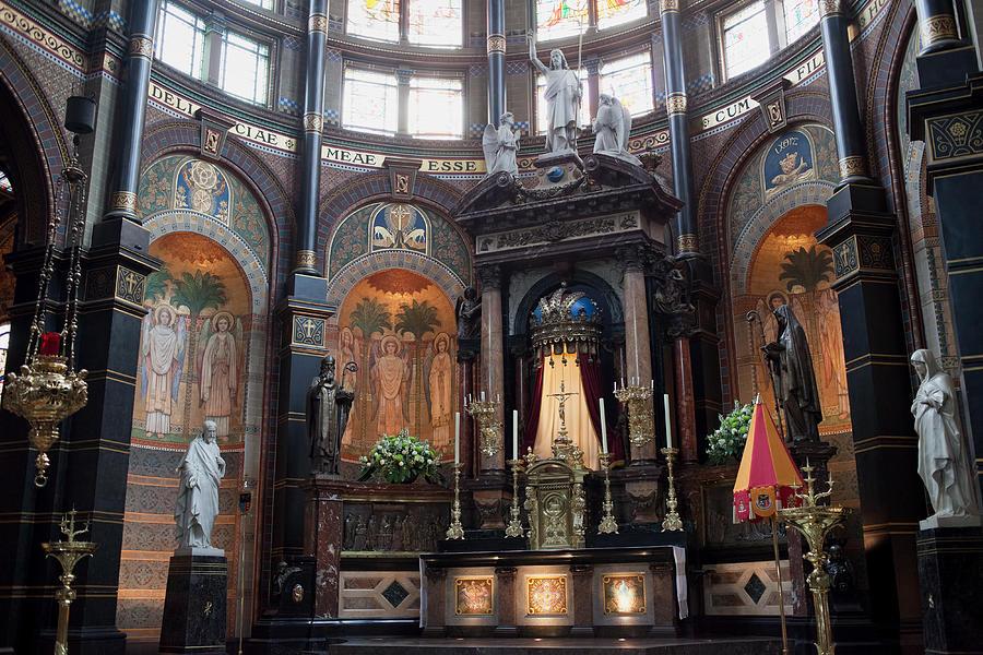 Amsterdam Photograph - St Nicholas Church Interior In Amsterdam by Artur Bogacki