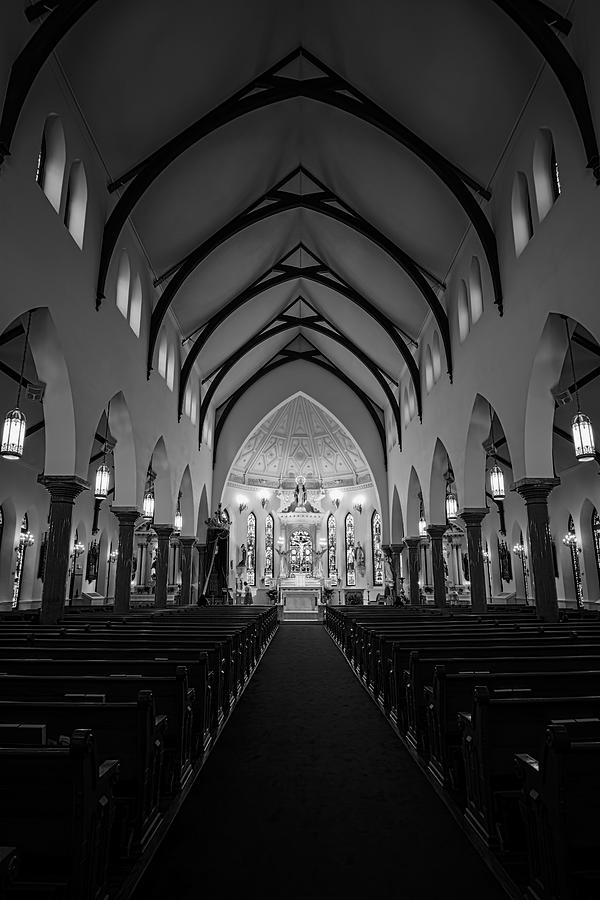 Joan Carroll Photograph - St Patricks Cathedral Fort Worth by Joan Carroll