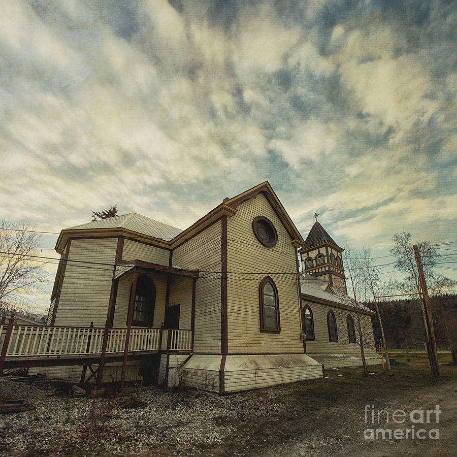 Church Photograph - St. Pauls Anglican Church by Priska Wettstein