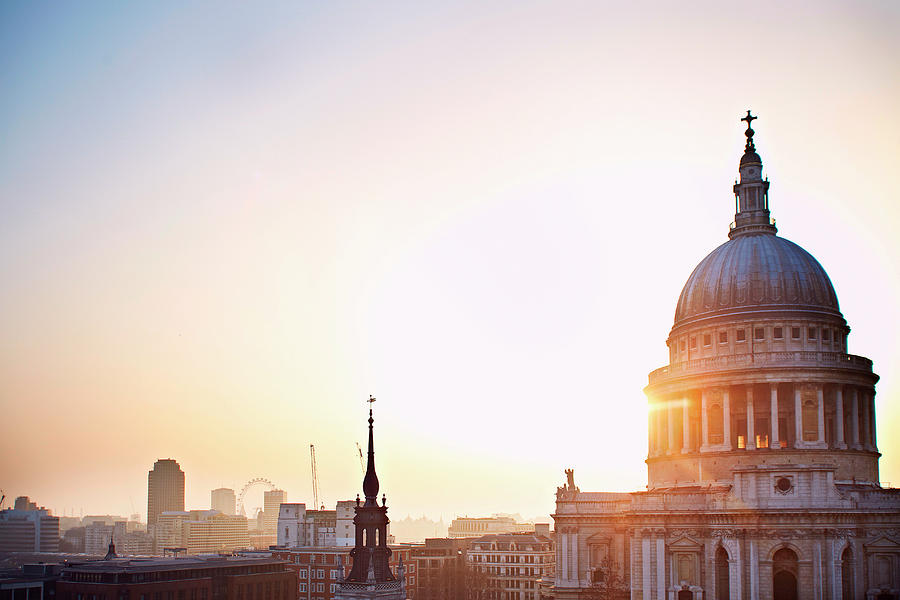 St Pauls Cathedral, London, England, Uk Photograph by Liam Norris