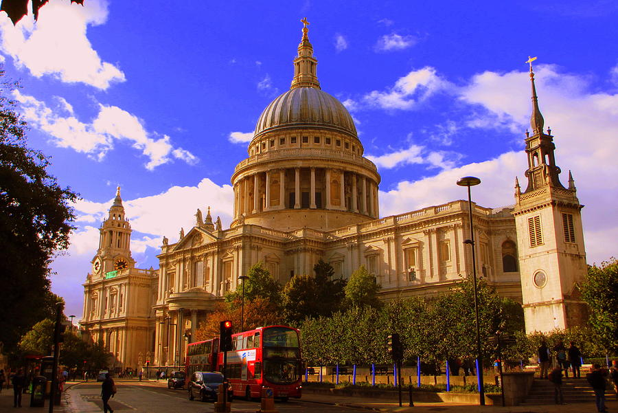 London Photograph - St Pauls Catherdral by Donald Turner
