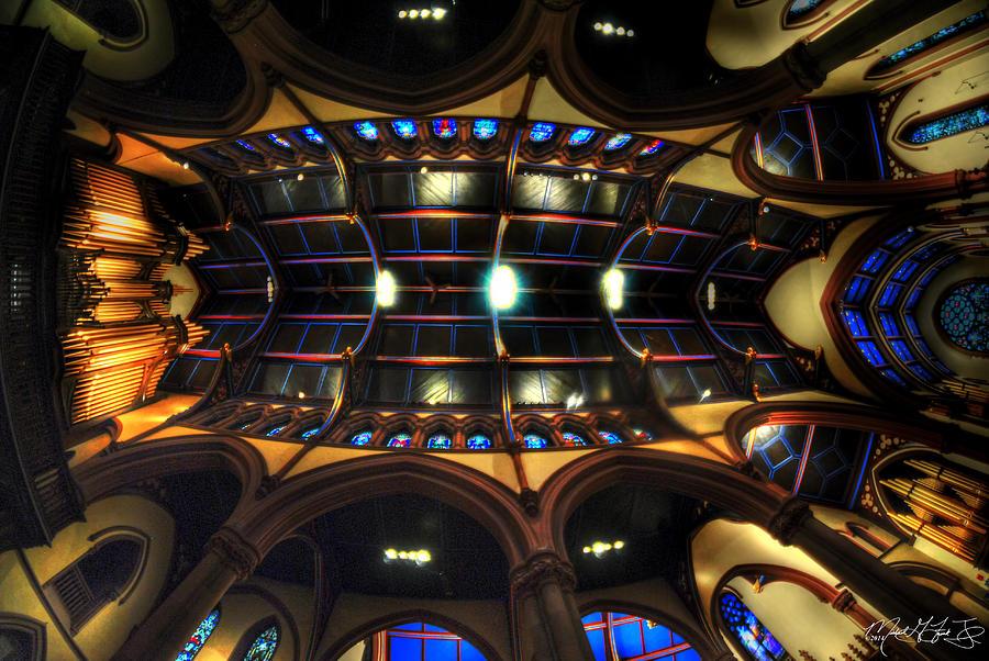 St. Pauls Episcopal Church Ceiling V1 Photograph