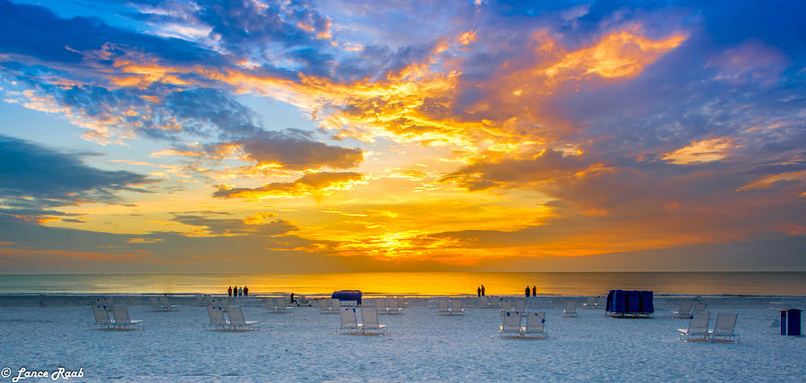 St. Pete Beach Photograph - St. Pete Beach Sunset by Lance Raab