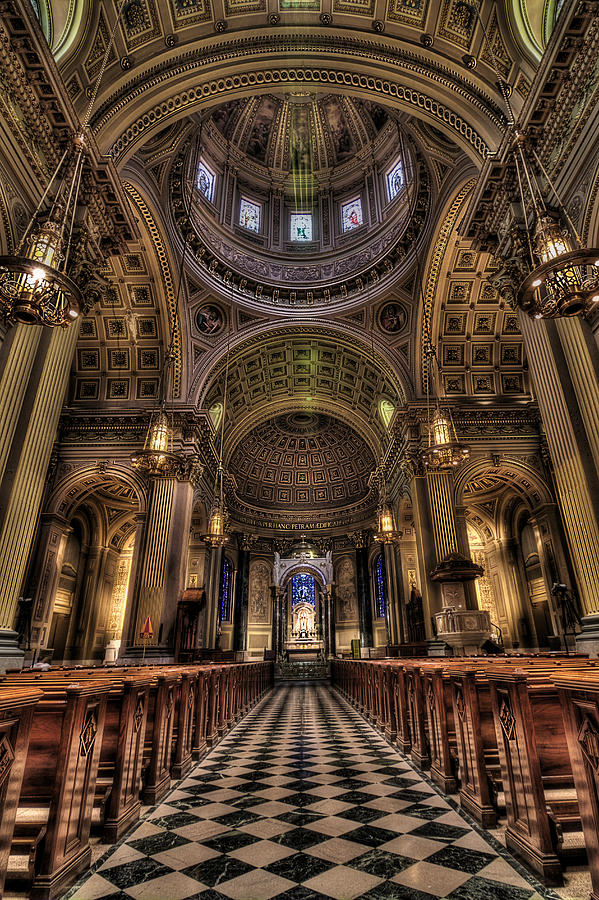 St. Peter And Paul Cathedral Photograph - St. Peter And Paul Cathedral by Kim Zier
