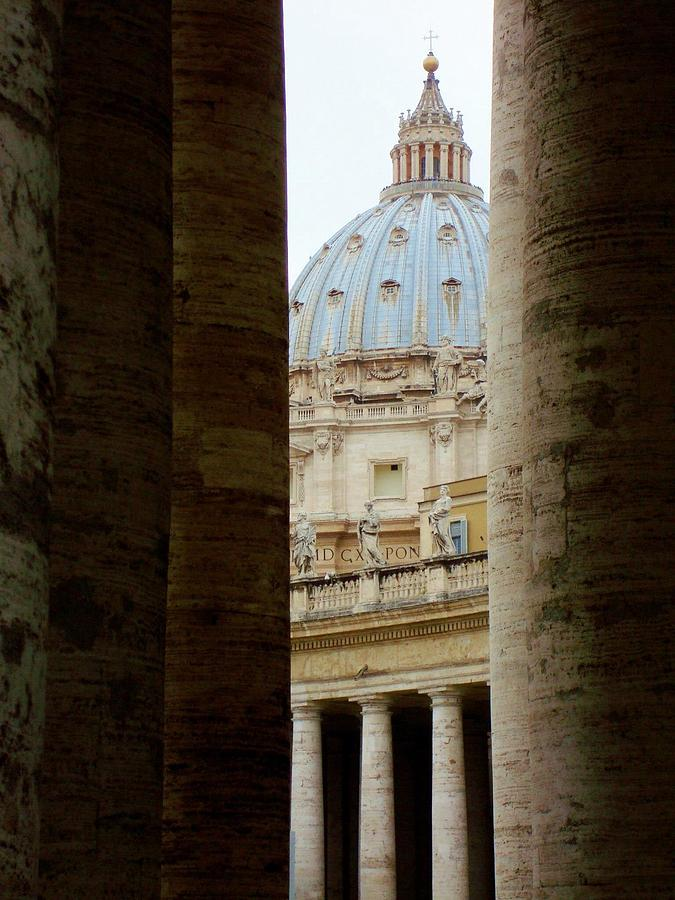 Italian Architecture Photograph - St. Peters  by Natalya Karavay