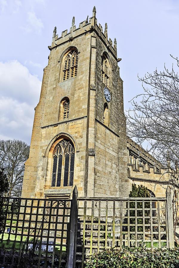 Travel Photograph - St Peters Parish Church by Elvis Vaughn