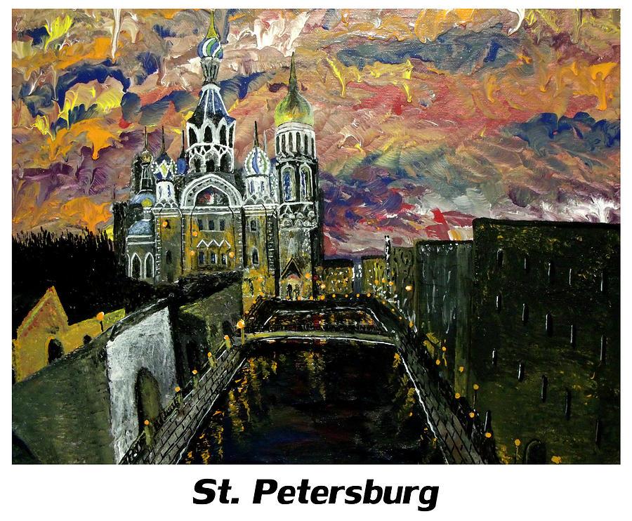 Russian Painting - St  Petersburg by Mark Moore