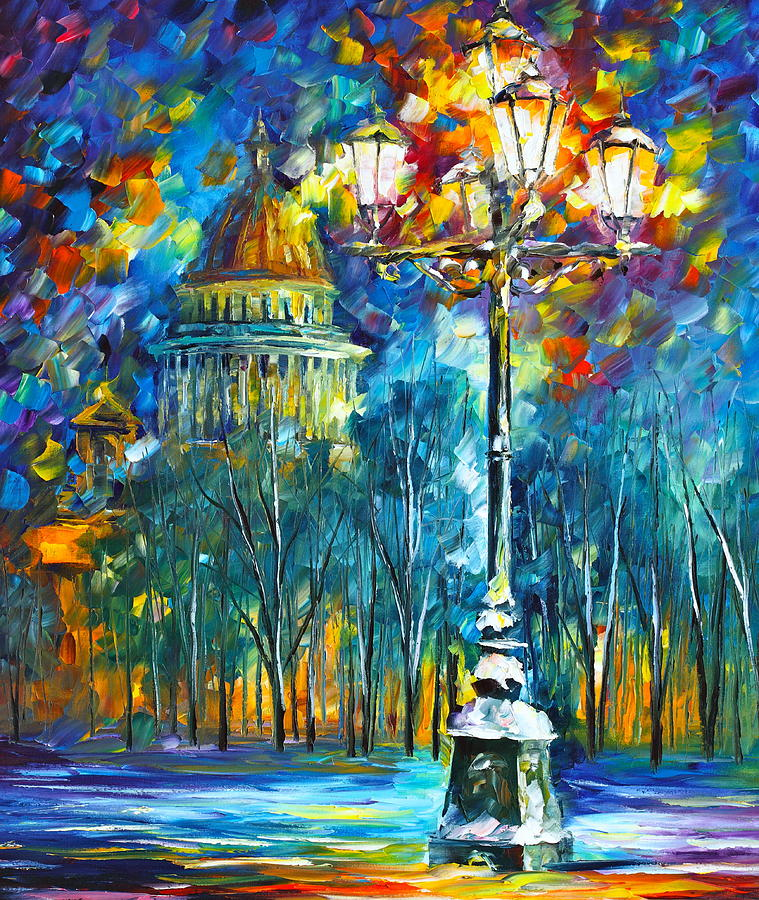 Russia Painting - St. Petersburg New by Leonid Afremov