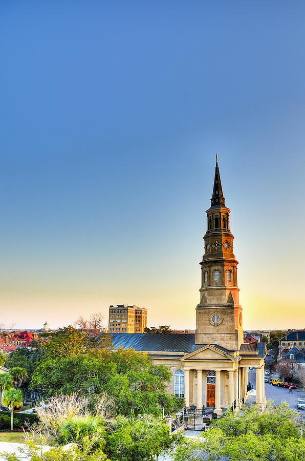 Church Photograph - St. Phillips Church by Drew Castelhano
