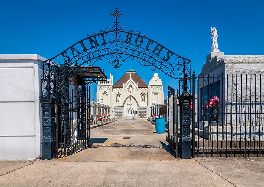 Cemetery Photograph - St Rochs Cemetery by Steve Harrington