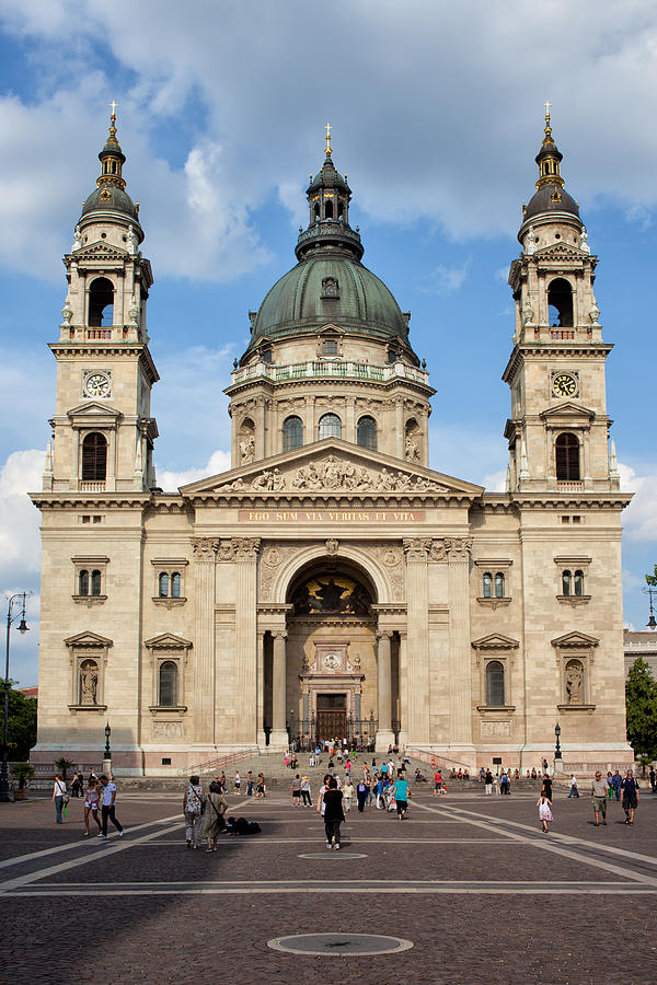 Architectural Photograph - St. Stephens Basilica In Budapest by Artur Bogacki