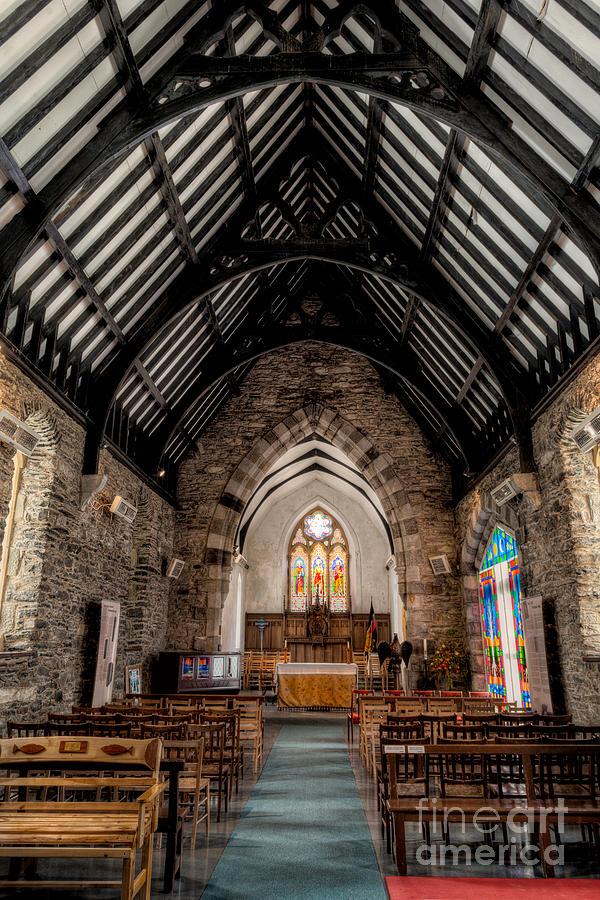 Altar Photograph - St Tudcluds Church by Adrian Evans